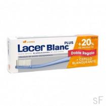 LacerBlanc Plus Pasta blanqueadora d-Menta 150 ml + REGALO Cepillo