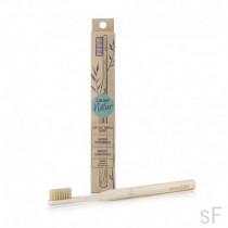 Lacer Natur Cepillo dental de bambú Medio