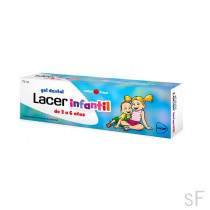 Lacer Infantil Gel dental 75 ml