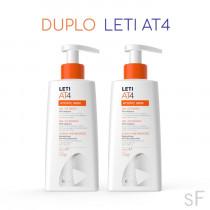 Leti AT4 Duplo Gel de baño Piel atópica 250 ml