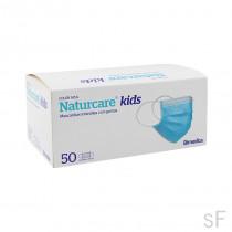 Mascarilla quirúrgica infantil Naturcare Kids 50 uds