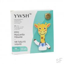 Mascarillas FFP2 Infantiles 10 uds YWSH