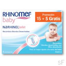 Narhinel Confort Recambios Blandos 20 uds
