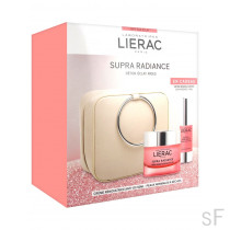 Pack Lierac Supra Radiance Crema Renovadora 50 ml + REGALO Serum