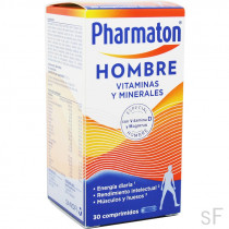 Pharmaton Hombre Vitaminas y minerales 30 comprimidos