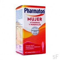 Pharmaton Mujer Vitaminas y minerales 30 comprimidos