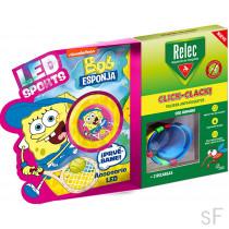 Relec Pulsera Antimosquitos Click Clack + Regalo Bob Esponja Tenis