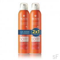 2x1 Rilastil Sun System Spray Transparente SPF50+ 2 x 200 ml