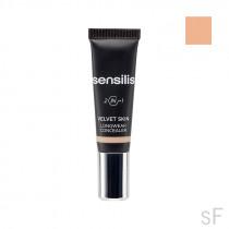 Sensilis Velvet Skin Corrector Líquido Alta cobertura y larga duración 02 Beige