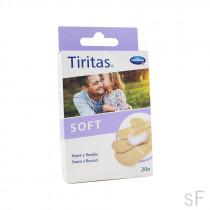 Tiritas Soft 20 uds 4 tamaños Hartmann