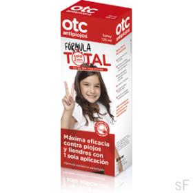 Spray Fórmula Total - OTC Antipiojos (125 ml)