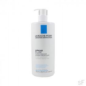 Lipikar Fluido Hidratante 750 ml / La Roche Posa