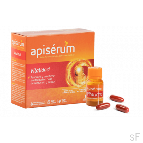 Apiserum Vitalidad 30 cápsulas blandas