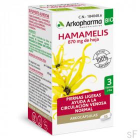 Arkocápsulas Hamamelis Bio Arkopharma 45 Cápsulas