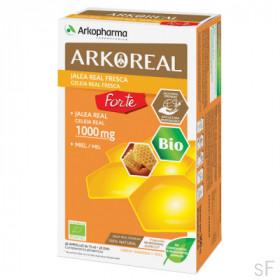 Arkoreal Jalea Real Fresca BIO Forte 1000 mg 20 ampollas Arkopharma