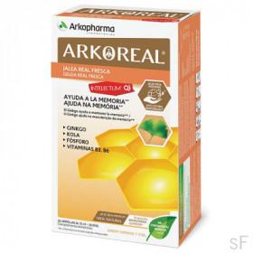 Arkoreal Jalea Real Fresca QI Intelectum 20 ampollas Arkopharma