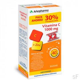 Duplo Arkopharma Vitamina C 1000 mg + Zinc