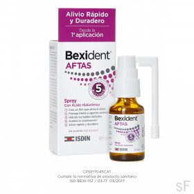 Bexident Aftas Spray Bucal 15 ml Isdin