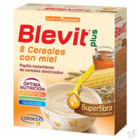 Blevit Plus Superfibra 8 Cereales con Miel 600 gr