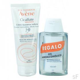 Avene Cicalfate Manos Crema reparadora 100 ml + REGALO Gel hidroalcohólico