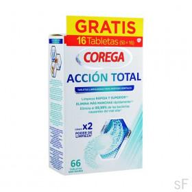 Corega Acción Total Tabletas limpiadoras 66 uds