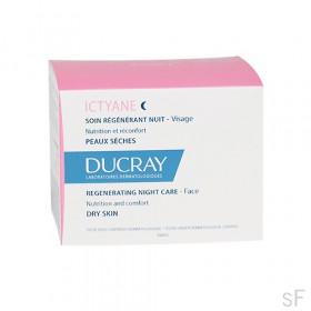Ducray Ictyane Cuidado regenerante Noche 50 ml