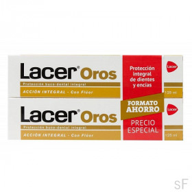 Duplo Lacer Oros Pasta Dentífrica 2 x 125 ml