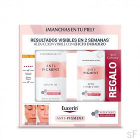 Eucerin Anti Pigment Crema de día SPF30 Antimanchas 50 ml + REGALO Corrector de Manchas