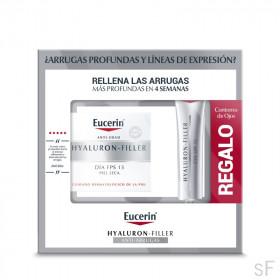 Eucerin Hyaluron Filler Día Piel Seca 50 ml + REGALO Contorno de Ojos