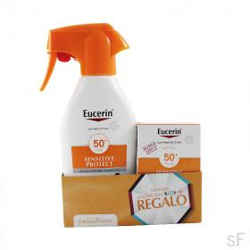 Eucerin Sensitive Protect KIDS Spray SPF50+ 300 ml + REGALO Pocket size