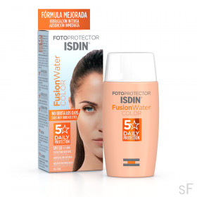 Fotoprotector Isdin Fusion Water Color SPF50