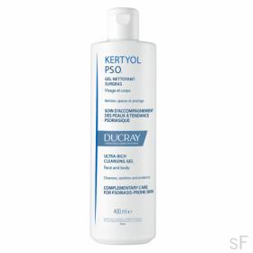 Kertyol PSO Gel limpiador sobregraso 400 ml Ducray