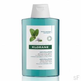 Klorane Champú Detoxificante a la Menta acuática 400 ml