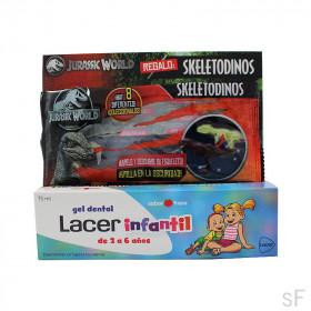 Lacer Infantil Gel dental Sabor fresa 75 ml + REGALO