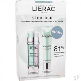 Lierac Sebologie Doble concentrado Día y Noche + REGALO Gel matificante