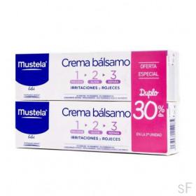 Duplo Mustela Crema bálsamo pañal 123 2 x 100 ml
