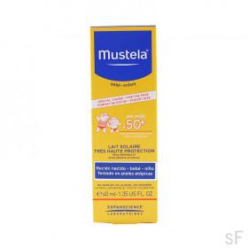 Mustela Leche Solar Rostro SPF50+ 40 ml