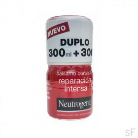 Duplo Neutrogena Bálsamo corporal Reparación Intensa 2 x 300 ml