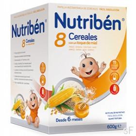 Nutriben 8 Cereales con Miel (600 g)