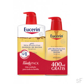 Eucerin Oleogel de Ducha pH5 1000 ml + 400 ml GRATIS