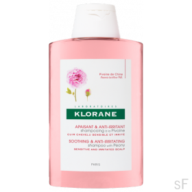 Klorane Champú Peonía Calmante cuero cabelludo sensible 400 ml