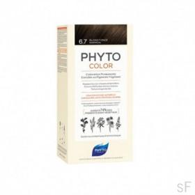 Phytocolor Tinte sin amoniaco / 06.7 RUBIO OSCURO MARRÓN