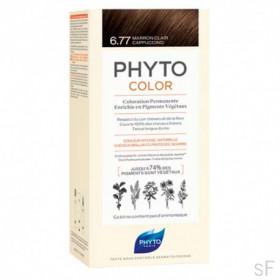 Phytocolor Tinte sin amoniaco / 06.77 MARRÓN CLARO CAPUCHINO