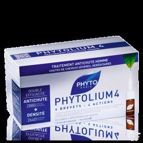 Phytolium 4 Tratamiento anticaída Hombres / Phyto 12 ampollas