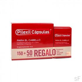 Pilexil Cápsulas anticaída 150 cápsulas + Regalo 50 cáps