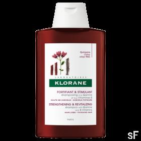 Estimulante y Fortificante / Champú a la Quinina y Vitamina B - Klorane (400 ml)