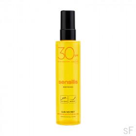 Sensilis Sun Secret Gel Óleo ativador bronzeado SPF30 200 ml