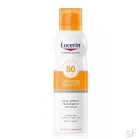 Eucerin Sun Spray Transparente Dry Touch Sensitive Protect SPF50