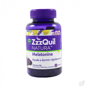Vicks ZzzQuil Natura Melatonina 60 gominolas
