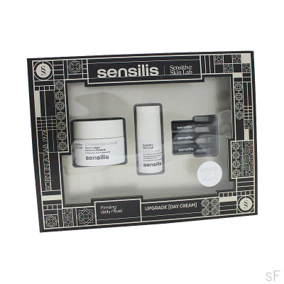 Sensilis Upgrade Crema Día 50 ml + REGALO Upgrade Ojos + REGALO Upgrade Ampollas